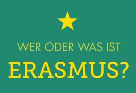 Wer oder was ist Erasmus?