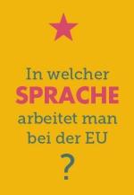 In welcher Sprache arbeitet man bei der EU?