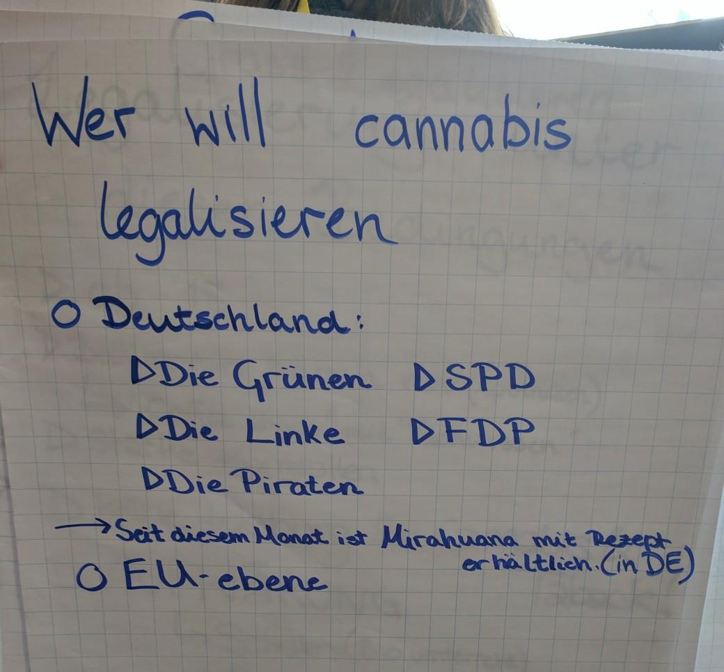Wer will Cannabis legalisieren
